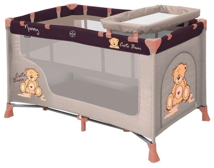 Манеж-кровать Lorelli Nanny 2