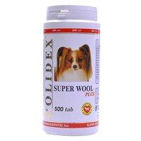 Витамины Polidex Super Wool plus для собак