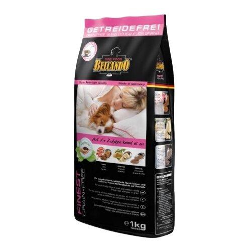 Корм для собак Belcando Finest GF Lamb для собак мелких и средних пород чувствительных к зерну (1 кг)Корма для собак<br>