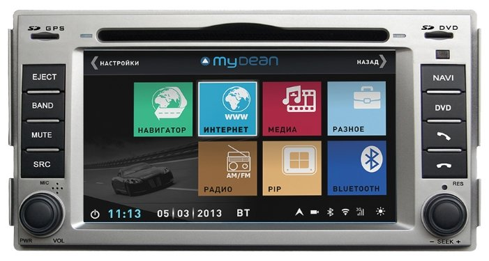 Автомагнитола MyDean 3008