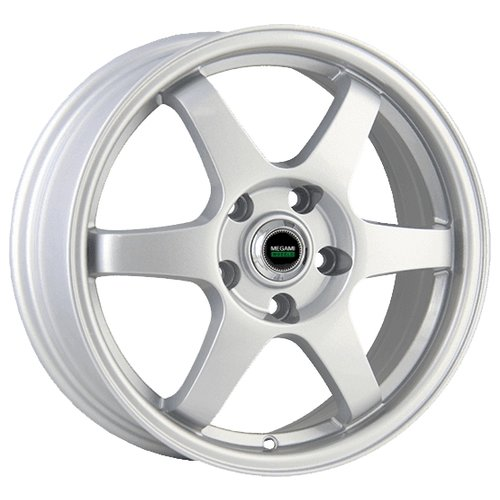 Фото - Колесный диск Megami MGM-6 6x15/4x100 D60.1 ET50 Silver колесный диск megami mgm 4 6x15 4x100 d60 1 et50 silver