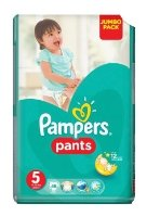 Pampers Pants 5 (12-18 кг)