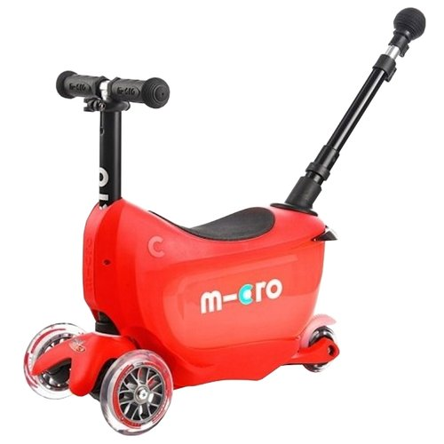 Кикборд Micro Mini2go Deluxe Plus red
