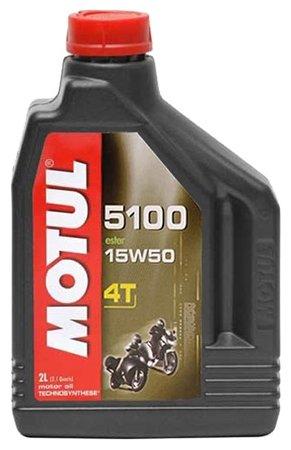 Моторное масло Motul 5100 4T 15W50 2 л