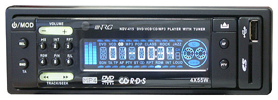 Автомагнитола NRG NDV-415