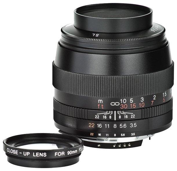 Объектив Voigtlaender 90mm f/3.5 APO SL II Lanthar Nikon F