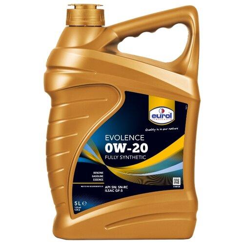 Моторное масло Eurol Evolence 0W-20 5 л
