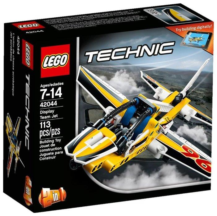 Классический конструктор LEGO Technic 42044 Самолет пилотажной группы