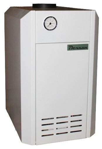 Конвекционный газовый котел Печкин КСГ-10, одноконтурный фото 1