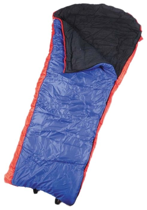 Спальный мешок Спортивные Мастерские Одеяло с капюшоном цветной -5°С/-15°С