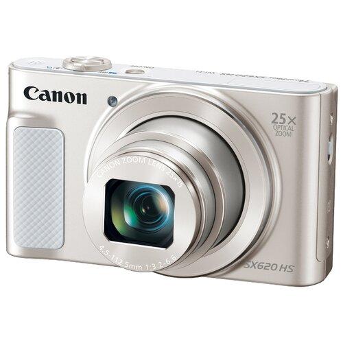 Фотоаппарат Canon PowerShot SX620 HS белый  - купить со скидкой