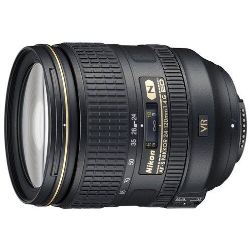 Объектив Nikon 24-120mm f/4G ED VR AF-S Nikkor объектив nikon 50mm f 1 4g af s nikkor jaa014da