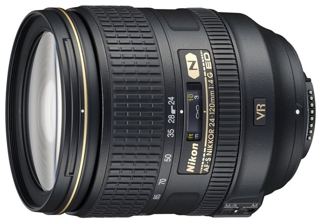 Nikon Объектив Nikon 24-120mm f/4G ED VR AF-S Nikkor