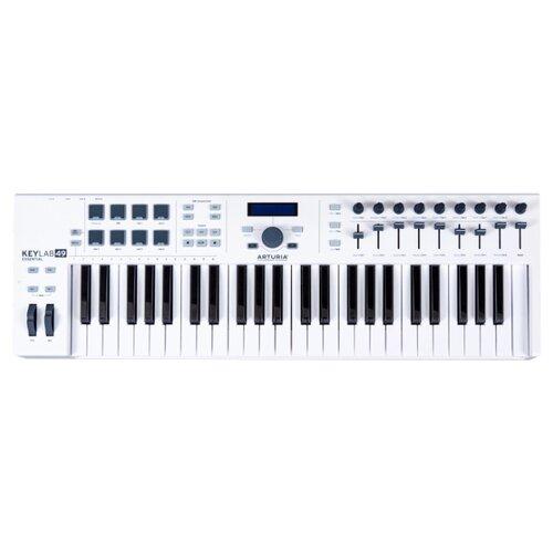 MIDI-клавиатура Arturia KeyLab Essential 49 белый