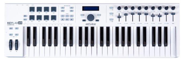 MIDI-клавиатура Arturia KeyLab Essential 49 — купить по выгодной цене на Яндекс.Маркете