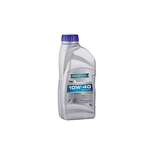 Полусинтетическое моторное масло Ravenol TSi SAE 10W-40, 1 л моторное масло ravenol dlo sae 10w 40 1 л