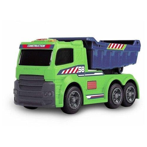 Купить Грузовик Dickie Toys со светом и звуком (3302005) 15 см зеленый/синий, Машинки и техника