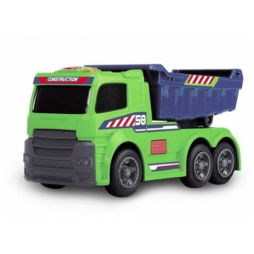 Грузовик Dickie Toys со светом и звуком (3302005) 15 см зеленый/синийМашинки и техника<br>