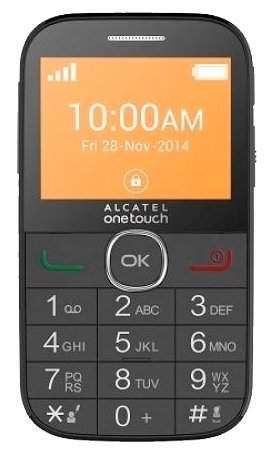 Alcatel OT-2004G, Black