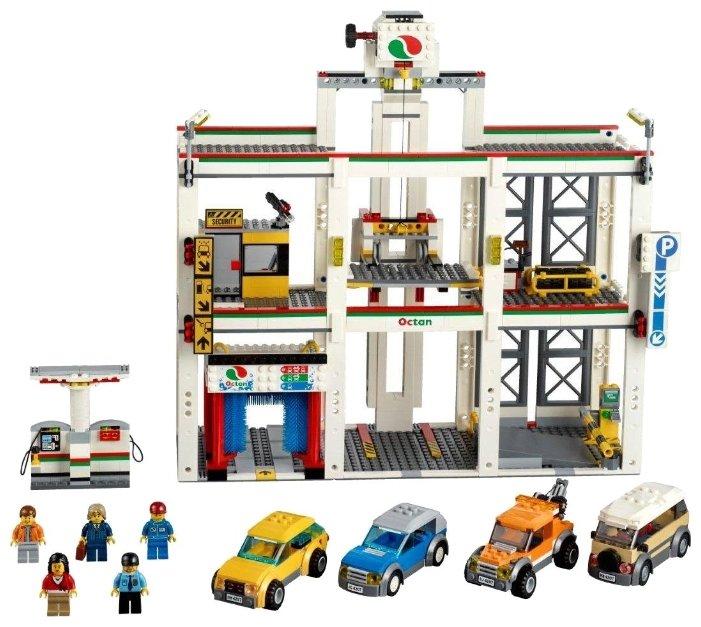 Лего сити гараж 4207 купить каркасный гараж на заказ
