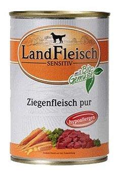 Корм для собак Dr. Alder`s ЛАНДФЛЯЙШ СЕНСИТИВ мясо козы рубленое мясо Для чувствительных собак (0.4 кг) 1 шт.