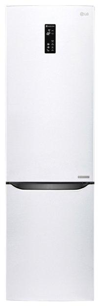 Холодильник LG GW-B489SQFZ белый