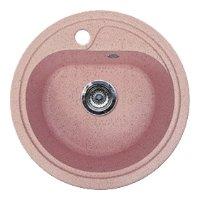 Врезная кухонная мойка Gran-Stone GS-04 44.5х44.5см искусственный мрамор