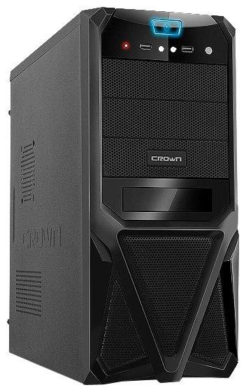 CROWN Компьютерный корпус CROWN CMC-SM161 450W Black