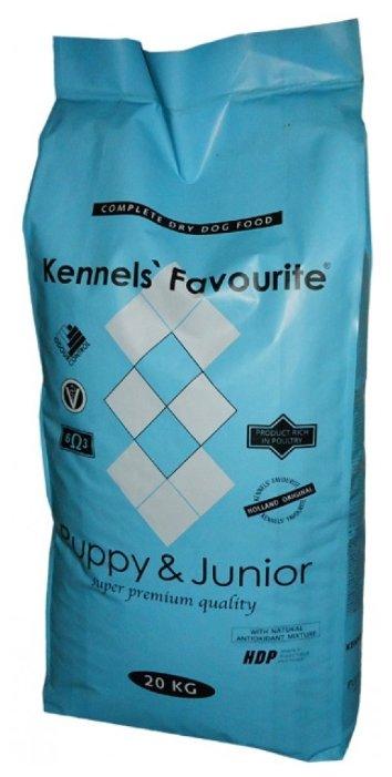 Корм для собак Kennels Favourite Puppy & Junior