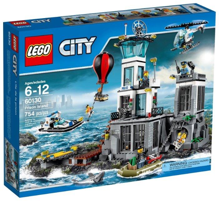 Конструктор LEGO City 60130 Тюремный остров