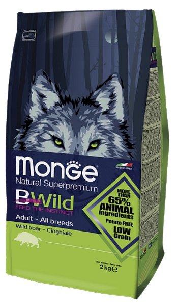 Корм для собак Monge Bwild Dog Wild Boar