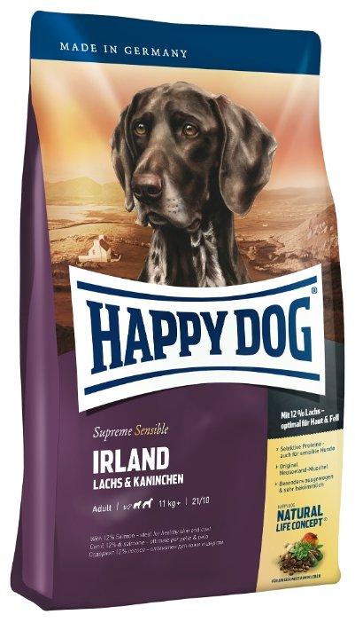 Корм для собак Happy Dog Supreme Sensible - Irland с лососем и кроликом