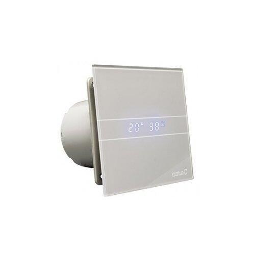 Вытяжной вентилятор CATA E-100 GSTH, серый 8 Вт