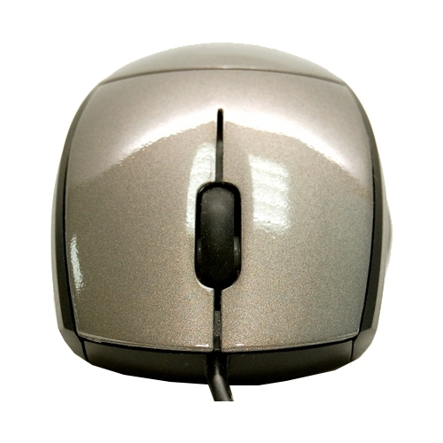 Мышь Chicony MS-8710 Metall Silver-Black USB