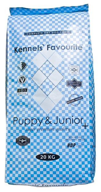 Корм для собак Kennels Favourite Puppy&Junior+