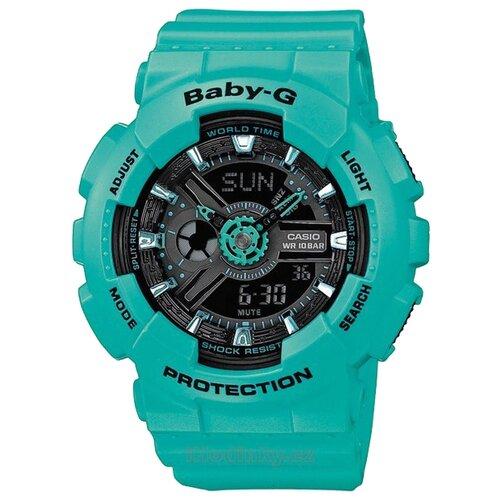 Фото - Наручные часы CASIO BA-111-3A женские часы casio ba 111 1a