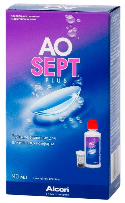 Раствор для контактных линз Aosept Plus 90 мл