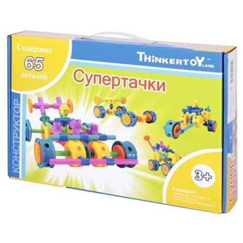 Купить Конструктор Thinkertoy Blue THIN0710-014 Супертачки, Конструкторы