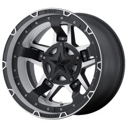 Колесные диски XD Series XD827 RS3 9x17/8x165.1 D125.5 ET-12 Matte Black Machined