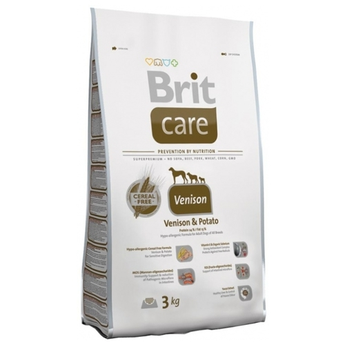 Корм для собак Brit (3 кг) Care Sensitive Venison & Potato