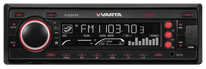 Автомагнитола VARTA V-CD510