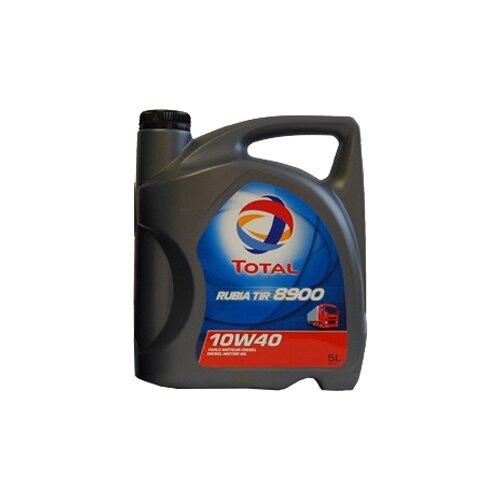 Полусинтетическое моторное масло TOTAL Rubia TIR 8900 10W40 5 л
