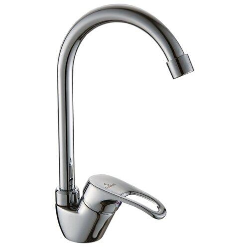Смеситель для кухни (мойки) СЛАВЕН СЛ-ОД-Б22 однорычажный хром смеситель для кухни славен дача сл од б22