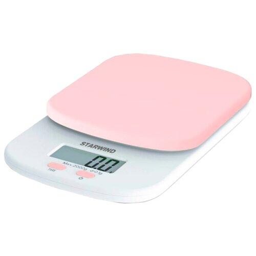Кухонные весы STARWIND SSK2155/2156/2157/2158 розовыйКухонные весы<br>