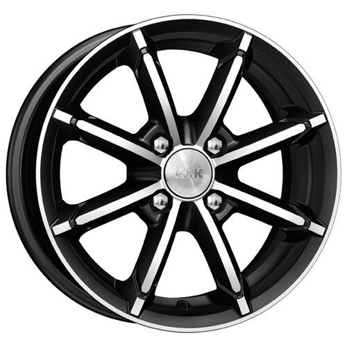 Фото - Колесный диск K&K Sportline 6х14/4х100 D67.1 ET40, 6.2 кг, Алмаз черный диск k