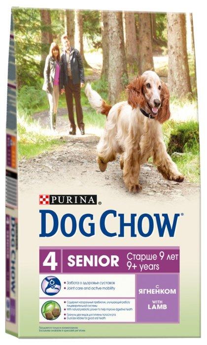 Корм для собак DOG CHOW Senior с ягненком для собак пожилого возраста