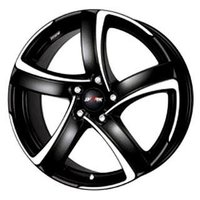 Колесный диск Alutec Shark 7x16/5x114.3 D70.1 ET38 Racing Black Front Polished