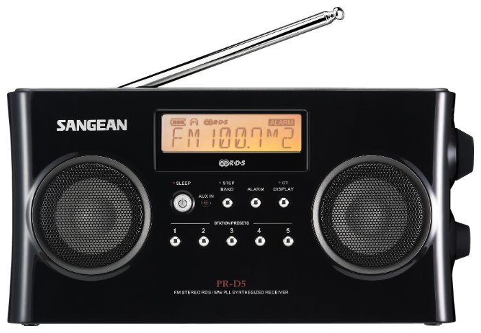 Радиоприемник Sangean PR-D5 Silver / White