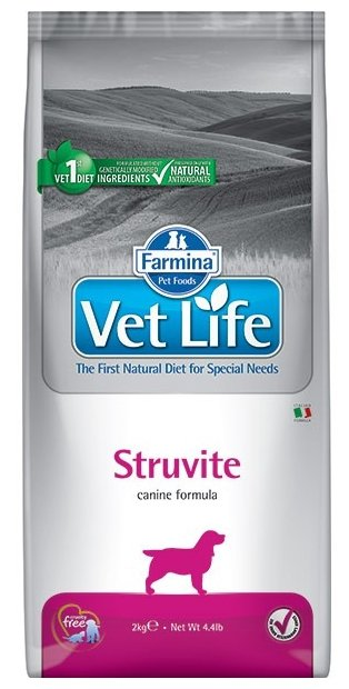 Корм для собак Farmina Vet Life Canine Struvite