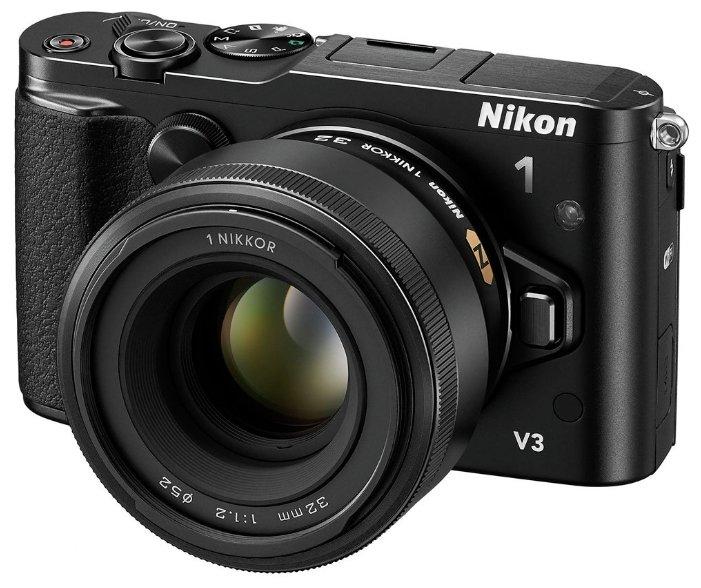 Nikon Фотоаппарат со сменной оптикой Nikon 1 V3 Kit